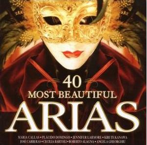 40 MOST BEAUTIFUL ARIAS (CD)